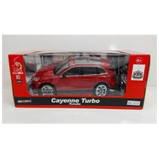 Porsche - Porsche Cayenne Turbo - Radiotelecomandata - Rosso - Scala 1:16