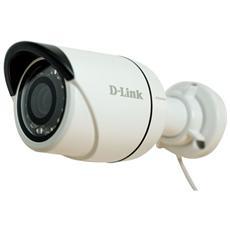 D-LINK - Videocamera IP Full HD DCS-4703E da Esterno PoE Colore Bianco