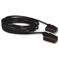 00122142 5m SCART (21-pin) SCART (21-pin) Nero Cavo SCART
