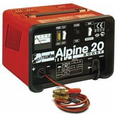 Caricabatteria Telwin Alpine 20 Boost 12-24V 18 A per Batterie ad Elettrolita