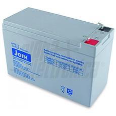 Batteria al piombo ricaricabile 12V 7Ah – AGM ideale per UPS, Sistemi di allarme, Gruppi di continuità, Peg Perego, lampada di emergenza