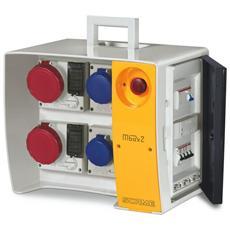 6565924008 – Quadro Mbox2 Morsettiera + Emergenza Presa Con Fusibili