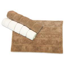 Tappeto bagno in cotone colore avorio cm 50x70 Maurer