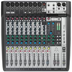 Signature 12 Mtk – Mixer Multitraccia Usb Con Effetti