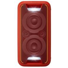 Sistema Audio 2 Vie GTK-XB5 Bluetooth NFC colore Rosso
