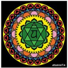 Ck4 Disegno 32x32 Cm Chakra Anahata