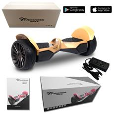 Monster 8.5'' Portable Bluetooth+app New Wheel Hoverboard Smart Balance Allroad Gold