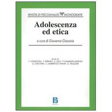Adolescenza ed etica