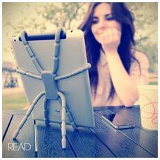 Spiderpodium Tablet, Gomma, Blu