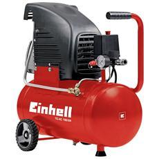 TC-AC 190/24 Compressore 1500 Watt Capacità 24 Litri