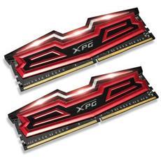Memoria Dimm Dazzle LED 16 GB (2 x 8 GB) DDR4 3000 MHz CL 16 Colore Rosso