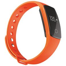 "Activity Tracker T-Fit Display 0.49"" Bluetooth con Cardiofrequenzimetro e Pedometro Arancione – Italia"