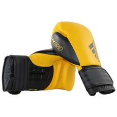 Guantoni Hybrid 200 In Pelle Yellow / black 10 Oz Adidas