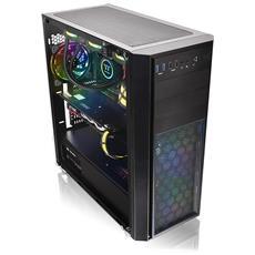 Case Versa H26 Midi Tower ATX / Micro-ATX / Mini-ITX 2 Porte USB 3.0 Colore Nero (Finestrato)