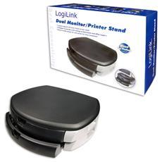 Supporto A Due Cassetti Per Monitor / Stampante