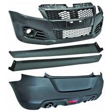 Kit estetico Tuning Suzuki Swift 2010- Look Sport verniciabile paraurti anteriore posteriore e Mini