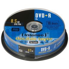 DVD+R 8.5GB, DL, 8x, DVD+R, Scatola per torte