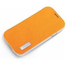 S4-28085 Custodia a libro Arancione custodia per cellulare