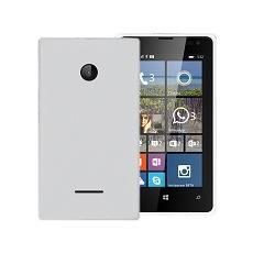 Cover gel protection+ white microsoft lumia 532