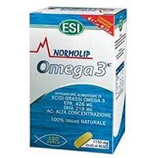 Linea controllo colesterolo trigliceridi normolip omega3 60 perle