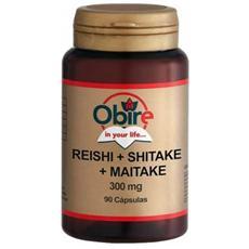 Reishi+shitake+maitake 300 Mg, 90 Capsule