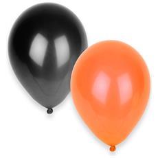 50 Palloncini Nei Colori Di Halloween Taglia Unica