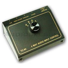 Selettore 4 Ingressi Audio Rca Tcc Tc-64 Passivo