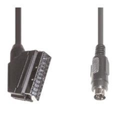VCS 26, 3m, SCART (21-pin) , S-VHS