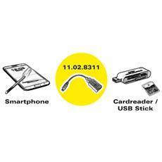 11.02.8311, 2.0, Micro-USB B, USB A