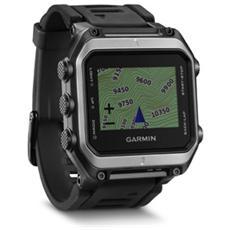 Smartwatch Epix Multisport con GPS mappe TOPO dell'Europa - Nero