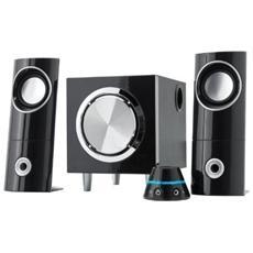Sistema Audio 2.1 Con Mini Subwoofer