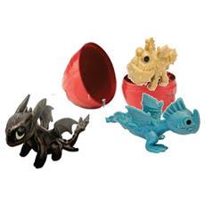 Dragons - Dragon Egg - Uovo Con 4 Draghetti