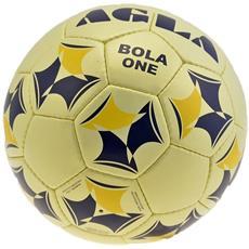 Pallone Calcio Bola One Giallo Blu 4