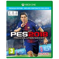 XONE - Pro Evolution Soccer 2018 PES Premium Edition