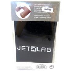 cuscino neck 'jet lag' nero (gonfiabile) - [ m4494]