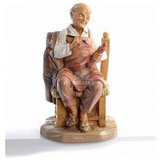 Il Fondatore 12cm Statuetta In Resina Presepe (f-87)