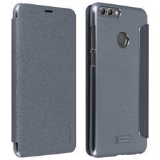 Custodia Huawei P Smart Con Paillette Protezione Integrale Grigia Nillkin