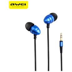 Awei Es - Cuffie Auricolari Intra-auricolari Per Bassi Profondi Stereo Q2 Da 3,5 Mm