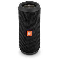 Speaker Portatile Flip 3 Stealth Edition Wireless Bluetooth Waterproof IPX7 Colore Nero