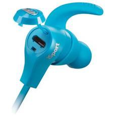 iSport, Blu, Interno orecchio, Bluetooth, 9m, Intraurale