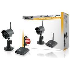 Sistema di Videosorveglianza Wireless a 5.8 GHz