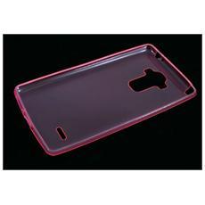 Custodia In Gomma Back Case Sottile Colore Rosa Per Lg G4 Stylus H635