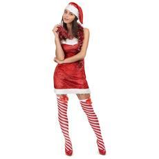 Costume Mamma Natale Per Donna M / L