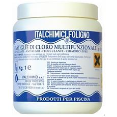 Cloro Multifunzione Pastiglie 200gr. - 1 Kg