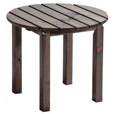 Tavolino Da Caffè Dolomiti Old Pine - Legno