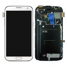 Schermo LCD + Touchscreen di Ricambio per Smartphone Bianco GH97-14112A