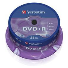 DVD+R 16x Advanced AZO 4.7GB Spindle 25pz