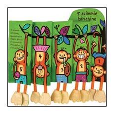 5 scimmie birichine