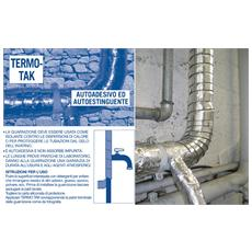 Termo-tak Alluminio Mm. 45x5mt