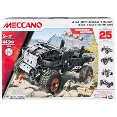 Set Costruzioni 25 Modelli 4x4
